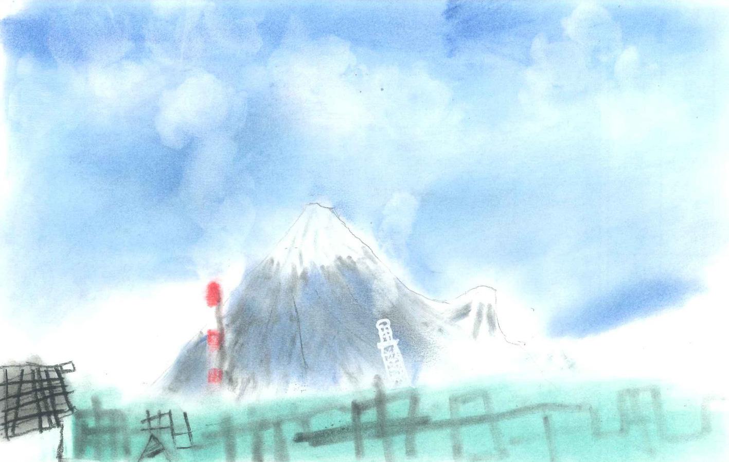 第二回 富士山御蔭祭 富士山の絵画コンクール(小学生の部)